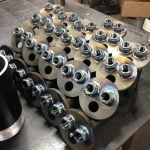 Vacuum housing sub assemblies